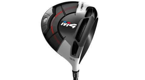 86 percent more weight in the rear of the clubhead on the TaylorMade M4 driver improves MOI and forgiveness.