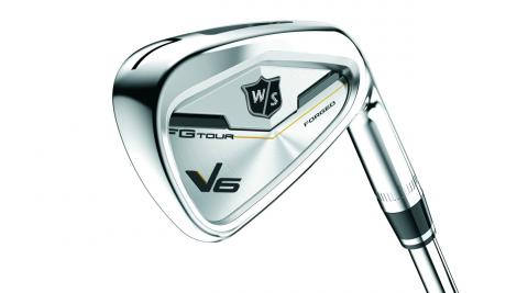 The new Wilson Staff FG Tour V6 iron.