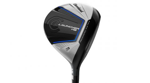 Flex-Fin Technology on the Cleveland Launcher HB fairway wood helps produce more speed on low-face strikes.