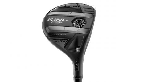"""Variable face thickness on the Cobra King F8+ fairway wood creates a broad elliptical """"sweet zone"""" and more forgiveness."""