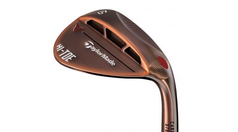 The new TaylorMade Milled Grind High Toe wedge.