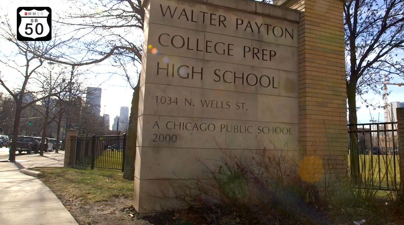 Walter Payton High School in Chicago