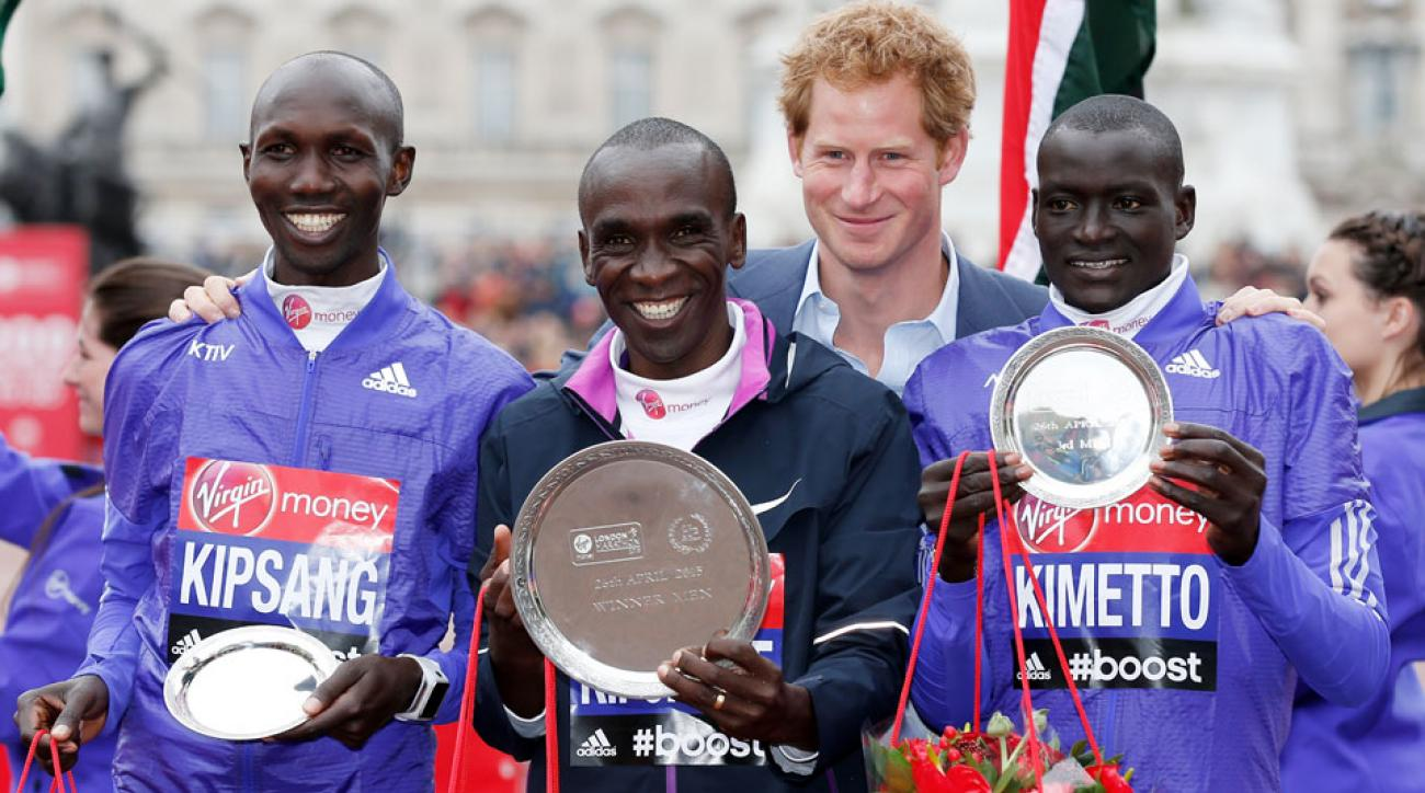 2016 london marathon elite mens field announced eliud kipchoge dennis kimetto wilson kipsang