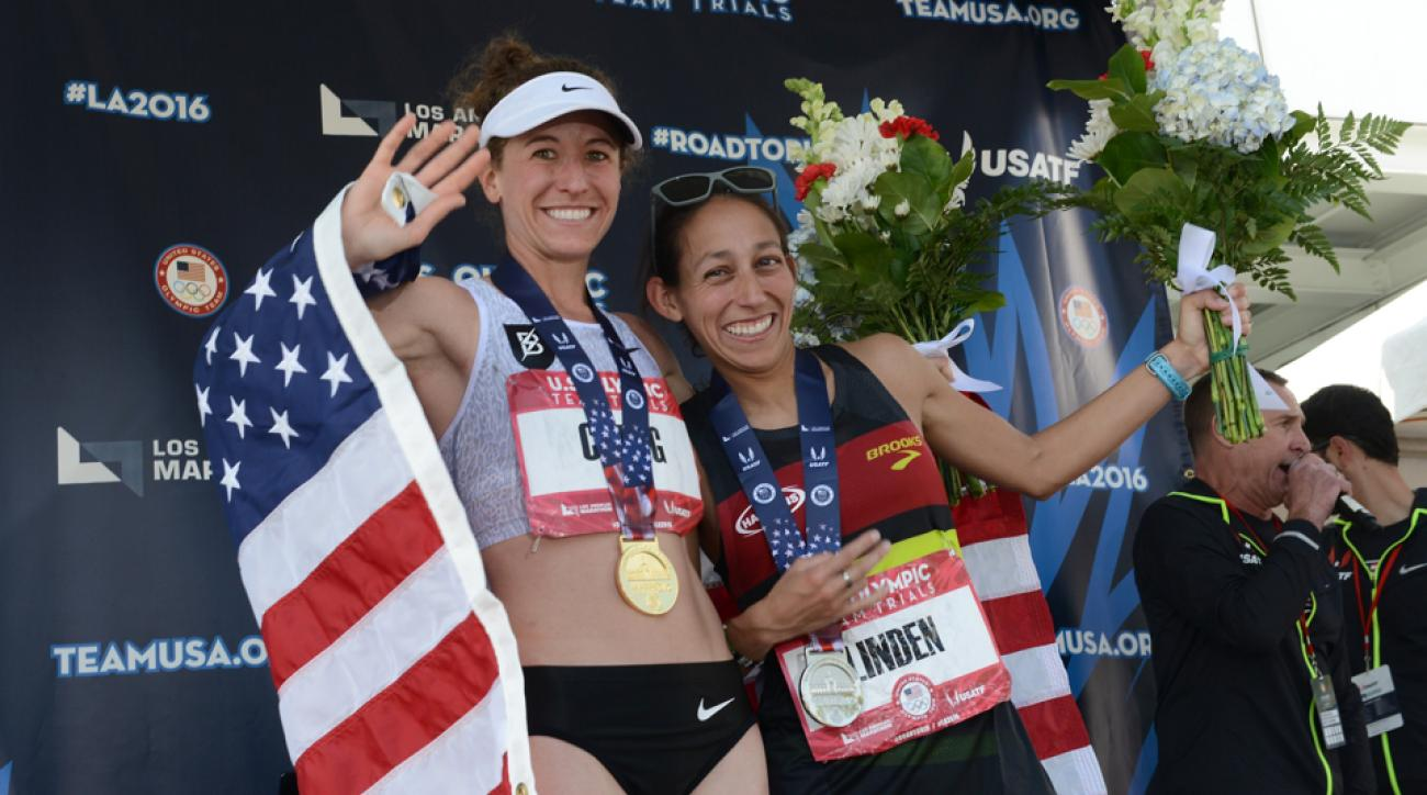 2016 us olympic marathon team cragg linden flanagan