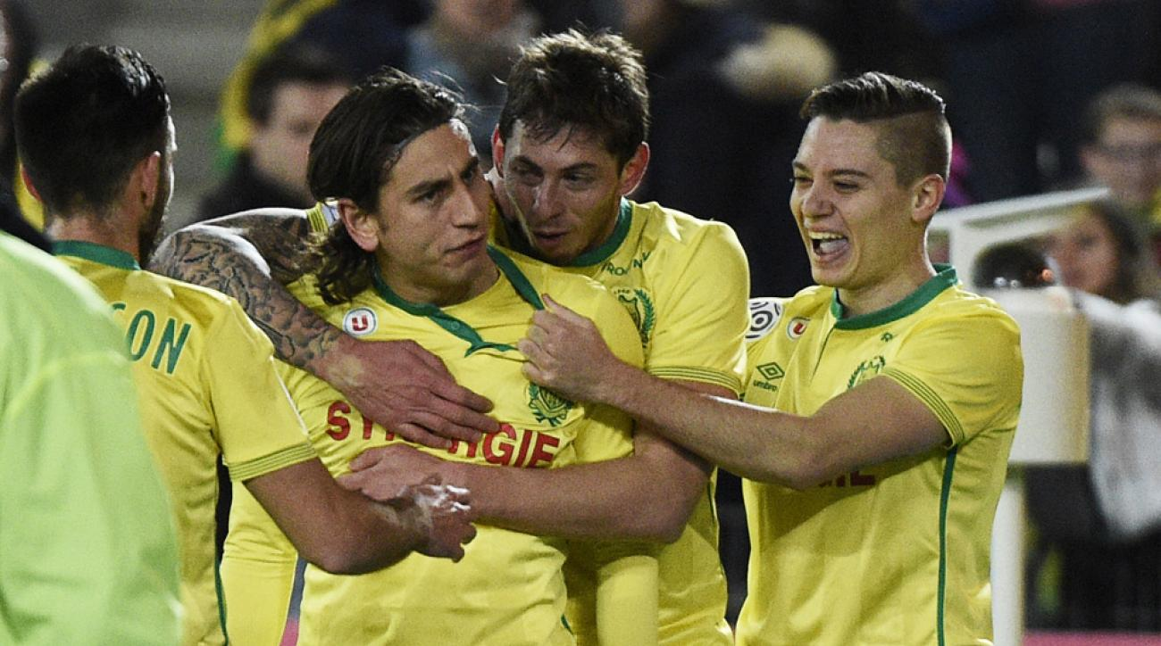 Alejandro Bedoya kept his attacking form going with a goal and an assist early in Nantes's match vs Gazelec Ajaccio