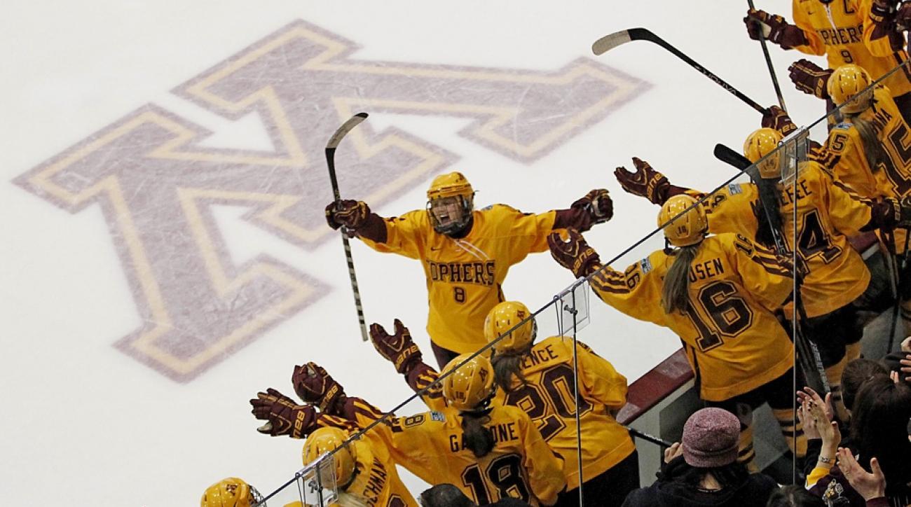 amanda kessel minnesota hockey return concussion