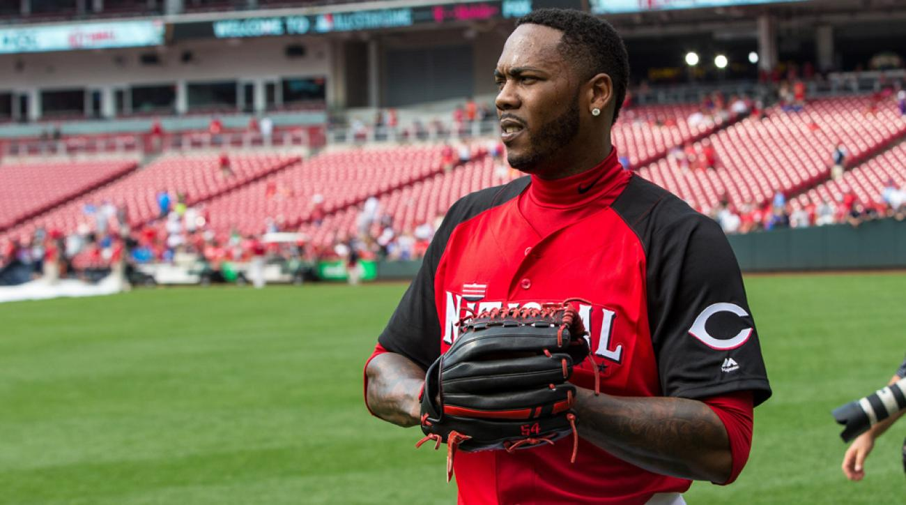 aroldis chapman new york yankees domestic violence owner defends trade