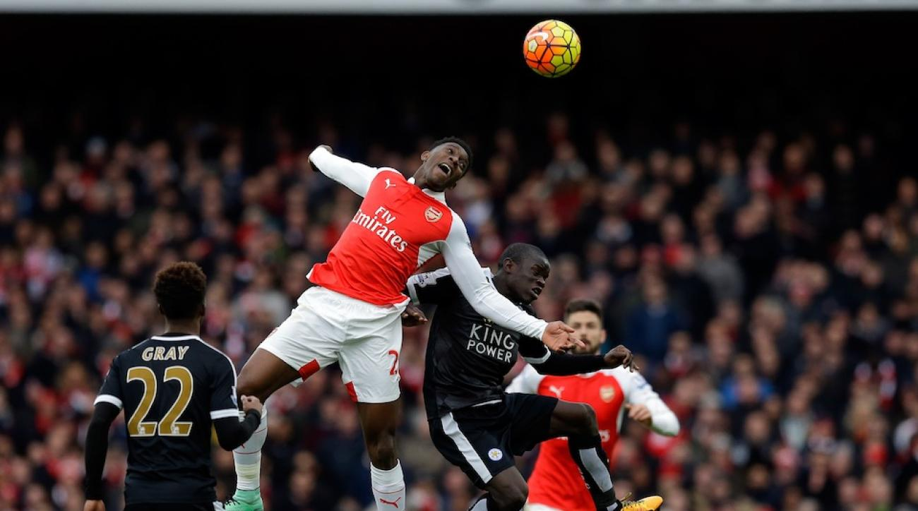 arsenal danny welbeck goal spanish call