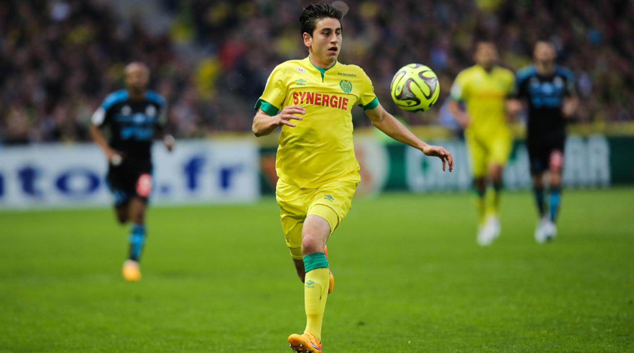 Alejandro Bedoya scores the winner for Nantes in a French Cup match