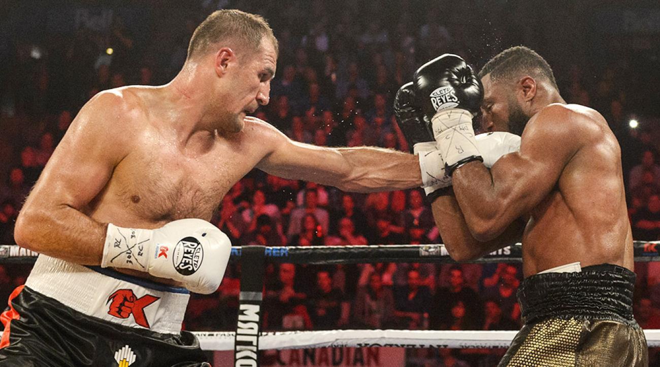 Sergey Kovalev Jean Pascal seventh round TKO