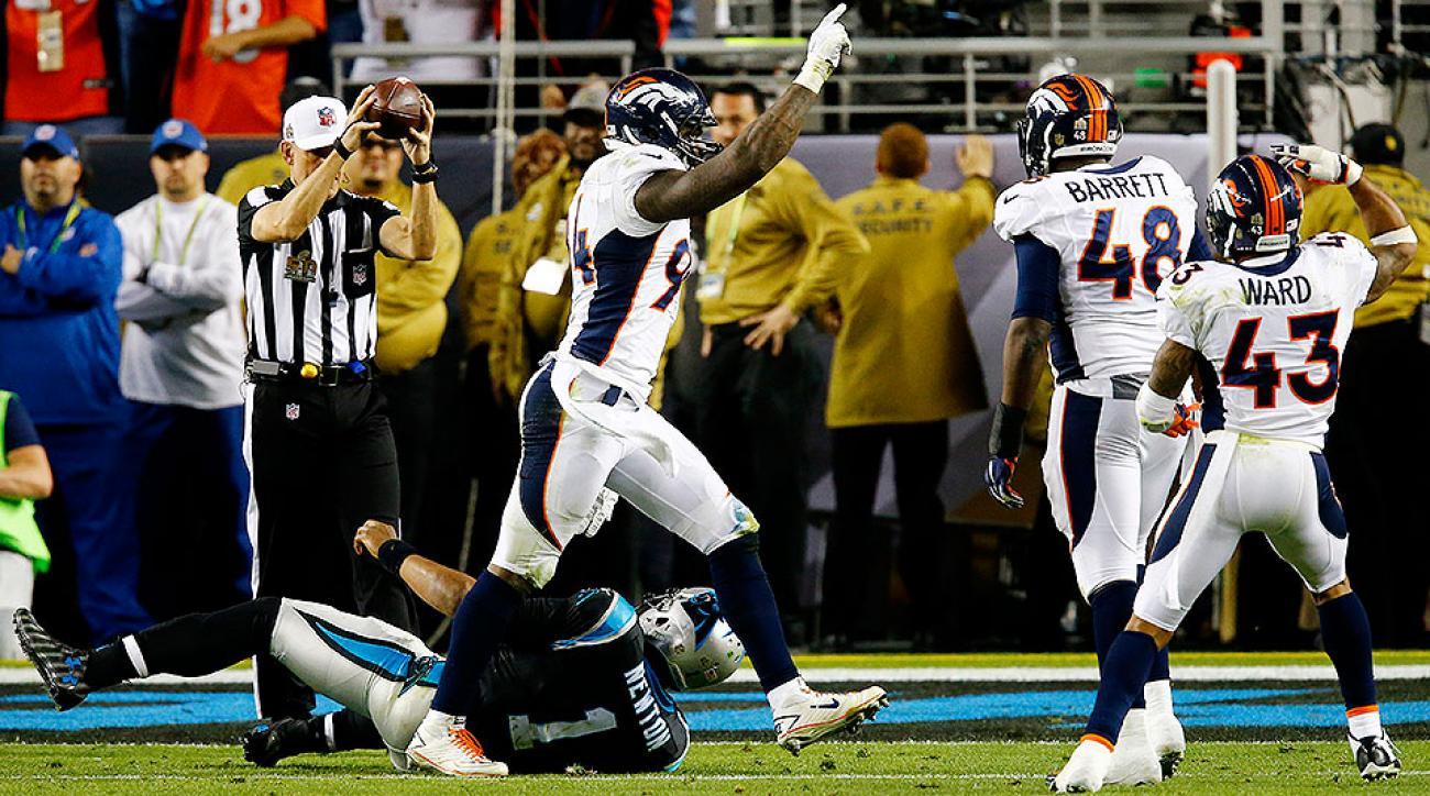 Broncos talk talk Cam Newton after winning Super Bowl 50