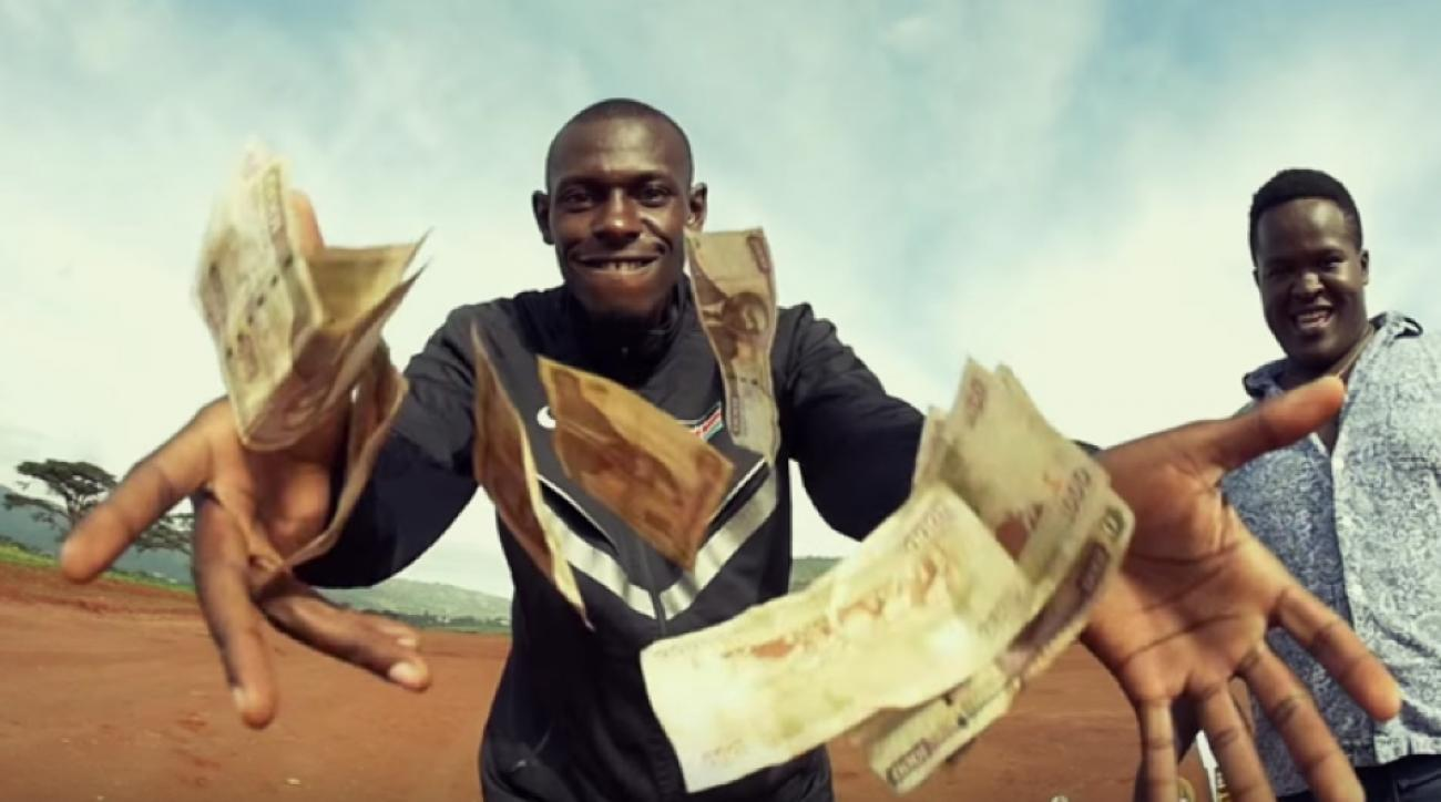 caleb ndiku rap music video kenyan distance runner