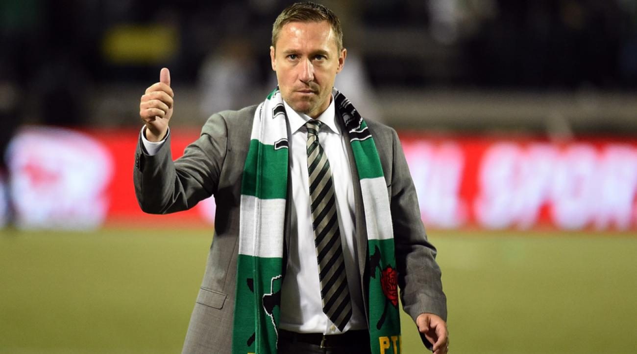 Caleb Porter signed a long-term extension to remain manager of the Portland Timbers