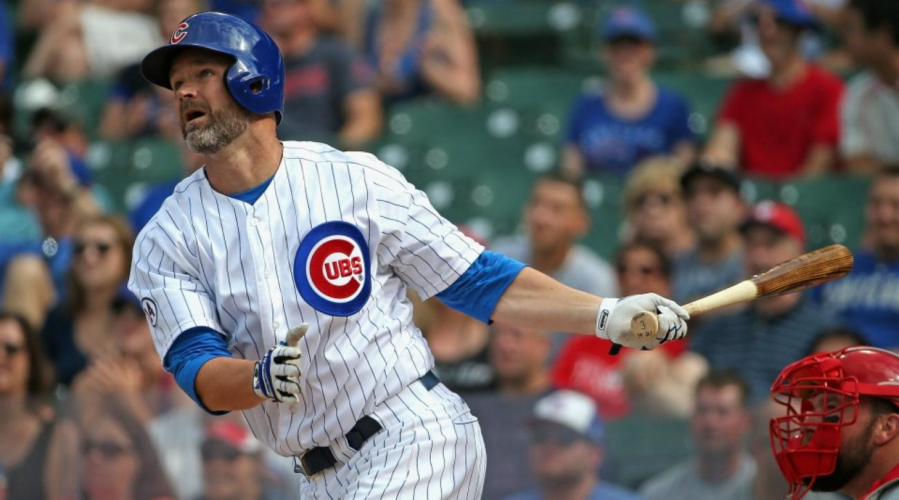 Chicago Cubs' Kris Bryant Anthony Rizzo made a David Ross instagram account