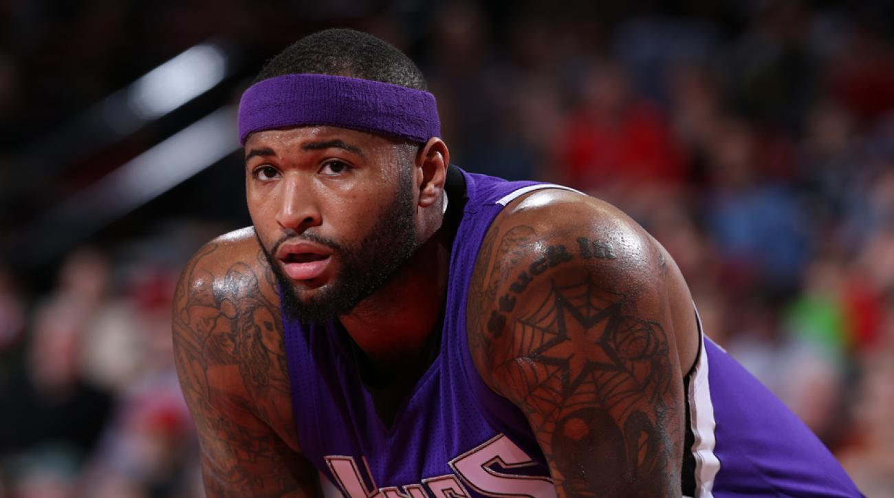 demarcus cousins kings ankle injury
