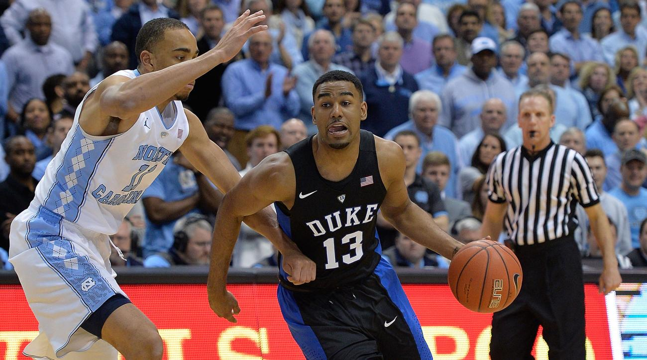 duke matt jones out ankle sprain