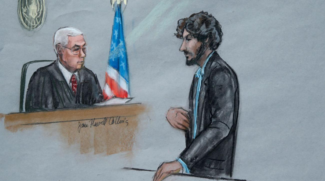 Dzhokhar Tsarnaev restitution order boston marathon bomber