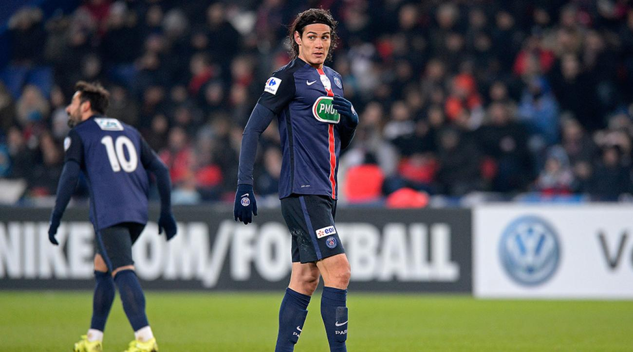 edinson cavani transfer rumors manchester united