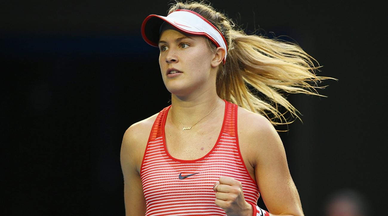 Eugenie Bouchard Qatar Open WTA results