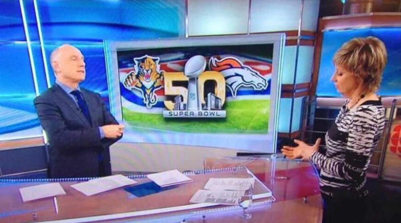 florida panthers carolina super bowl canada tv mistake