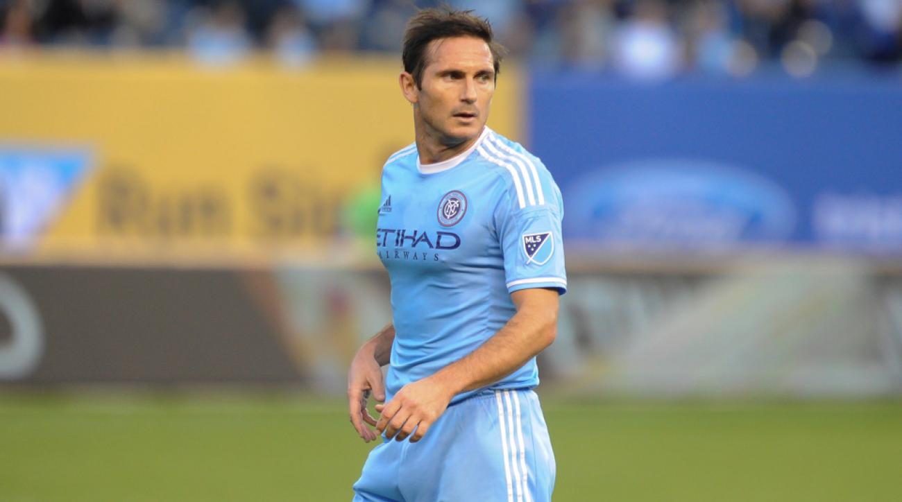 Frank Lampard will play his first full season with NYCFC in MLS