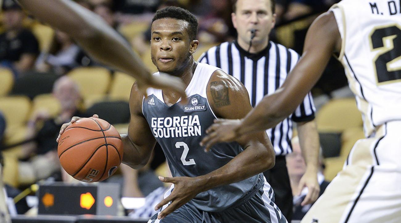 georgia southern appalachian state four point play video
