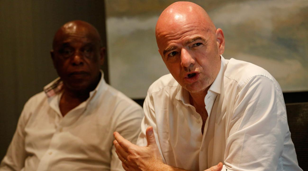 Gianni Infantino claims to have the majority of Africa's support in the FIFA election