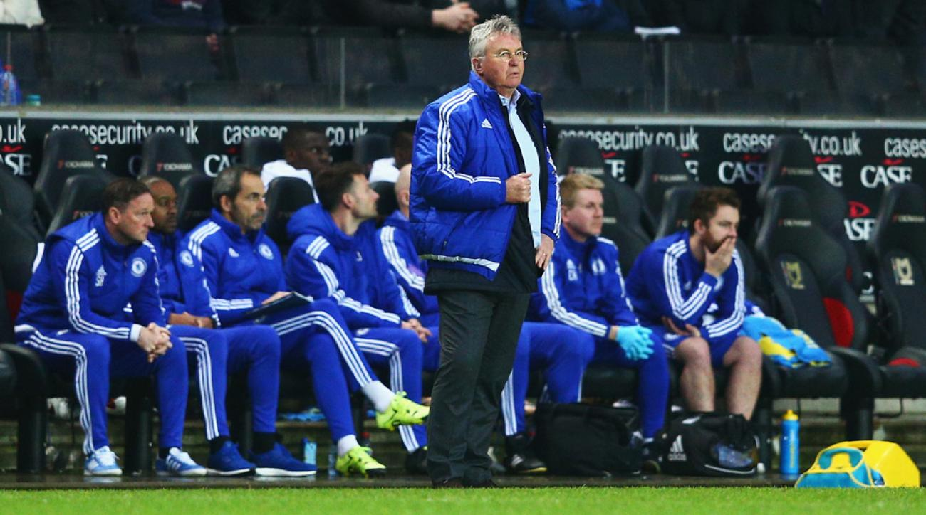 Chelsea manager Guus Hiddink is trying to restore order at the club in his second interim stint