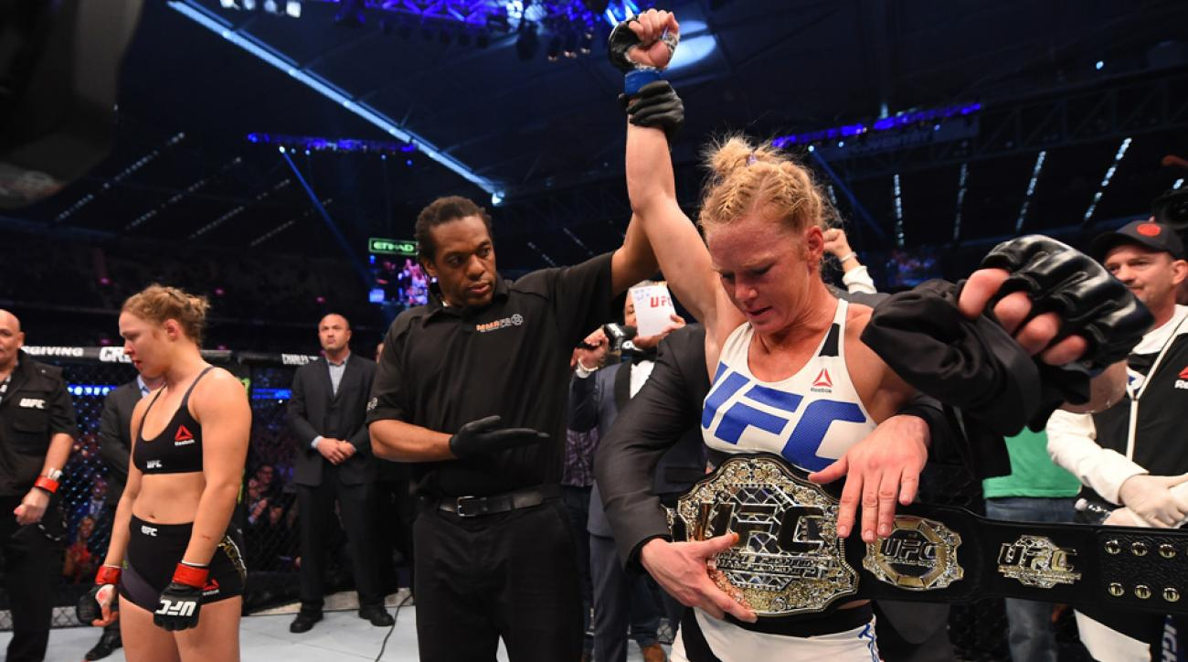 holly holm banned supplements endorsement