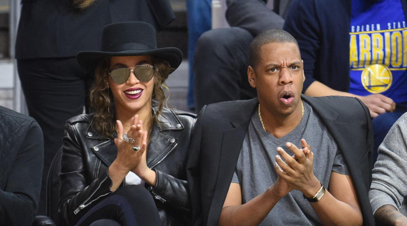 jay z beyonce warriors clippers
