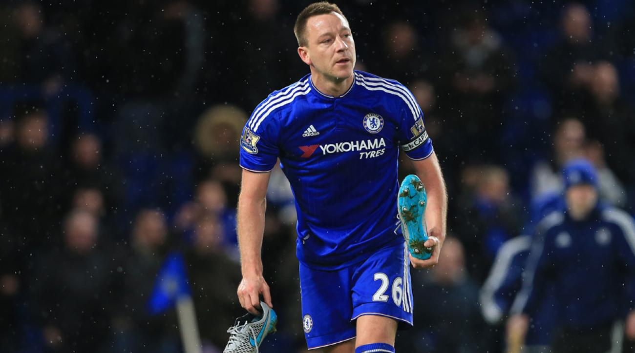 John Terry will miss Chelsea's FA Cup match vs. Manchester City