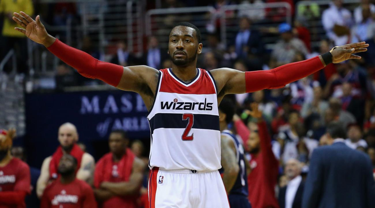 john wall wizards lebron james agent rich paul signs