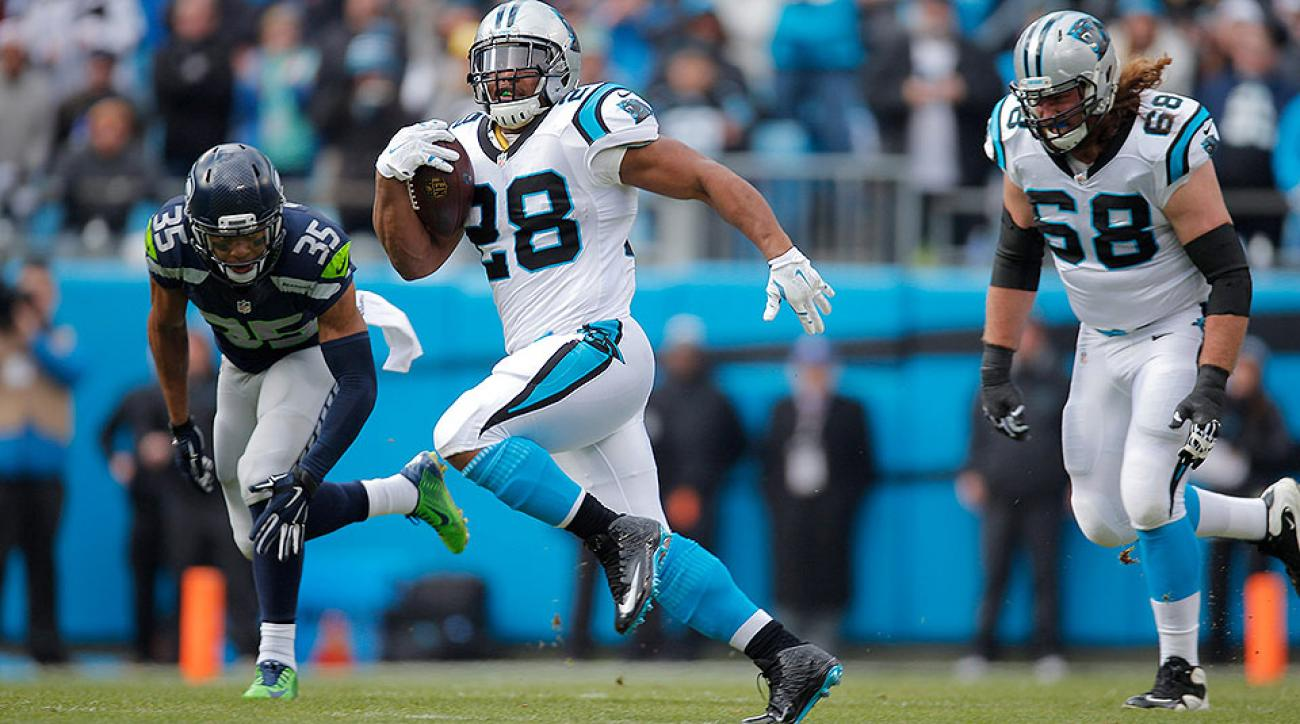 Jonathan Stewart will key Panthers' offense in NFC Championship Game