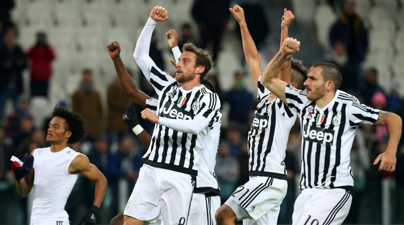 Juventus wins its 13th straight game in Serie A