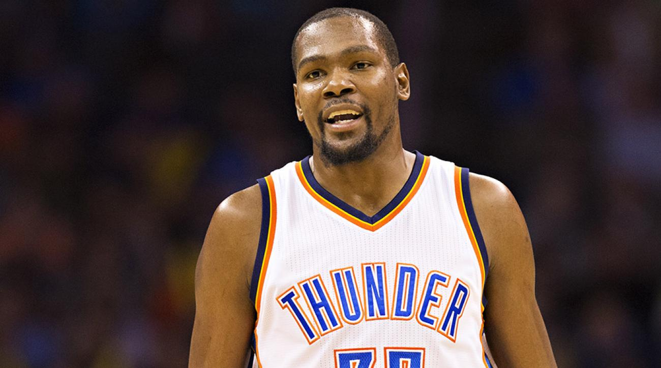 kevin durant thunder media comments