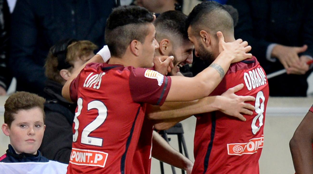 Lille thrashes Bordeaux to reach the French League Cup final