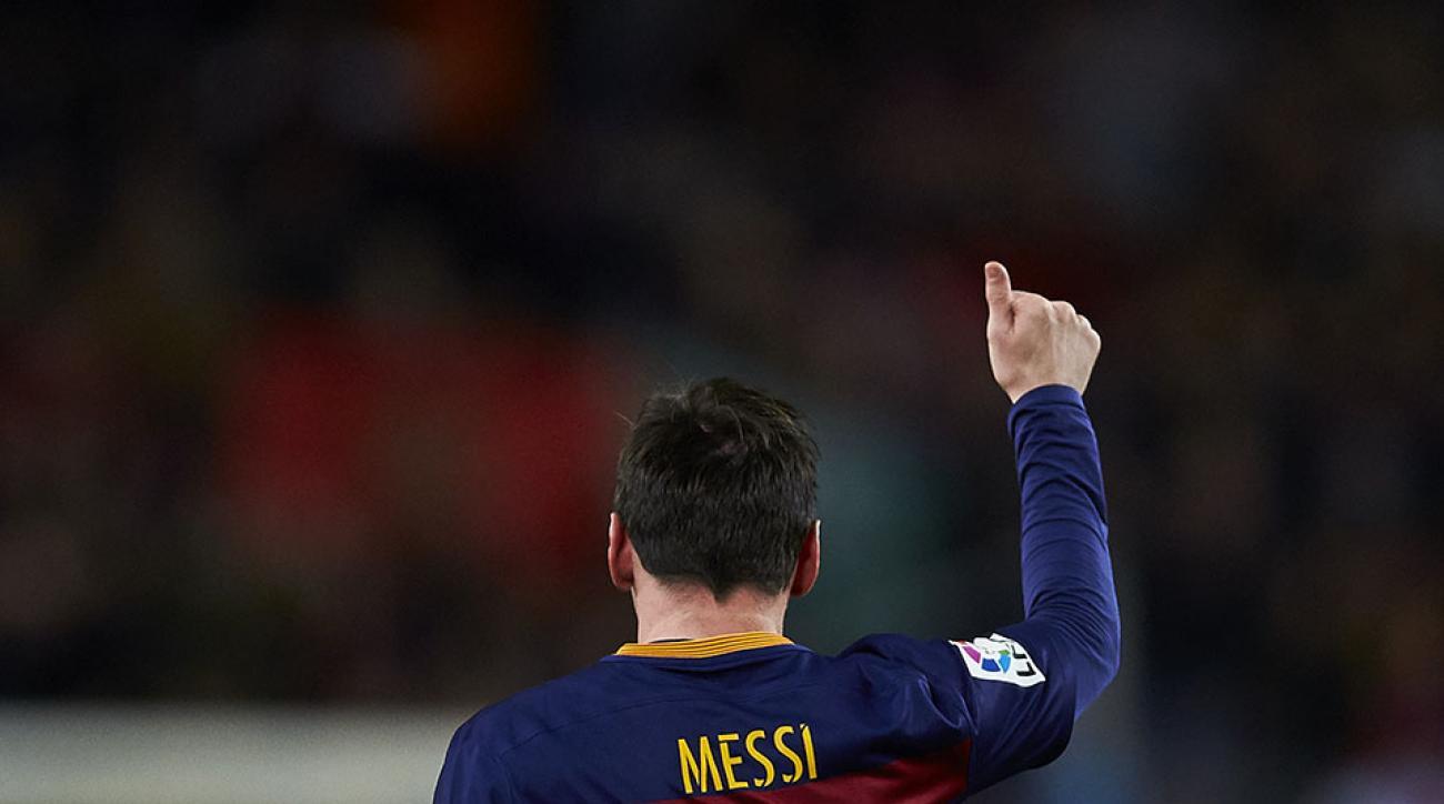 lionel messi goal barcelona 300 la liga