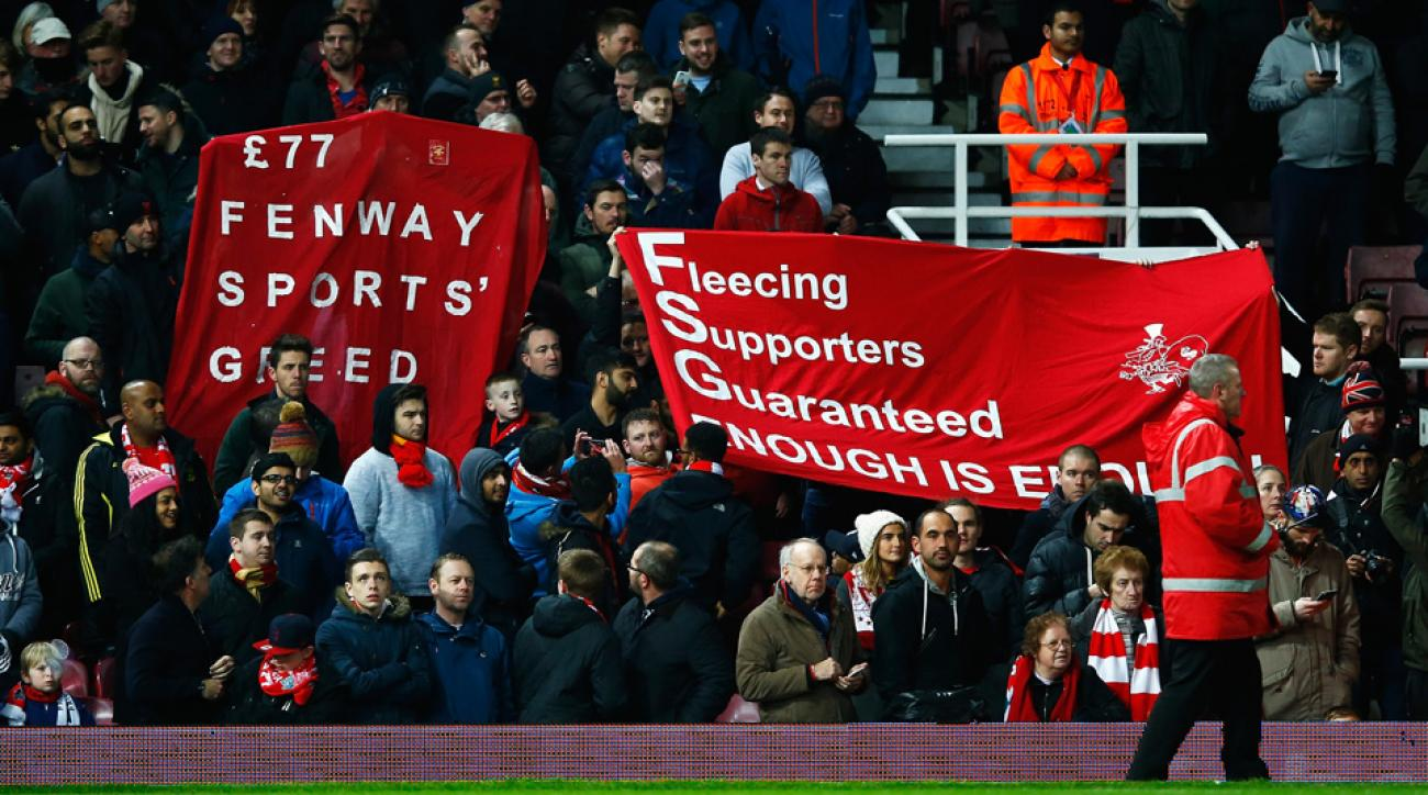 Liverpool fans have been heard by club management