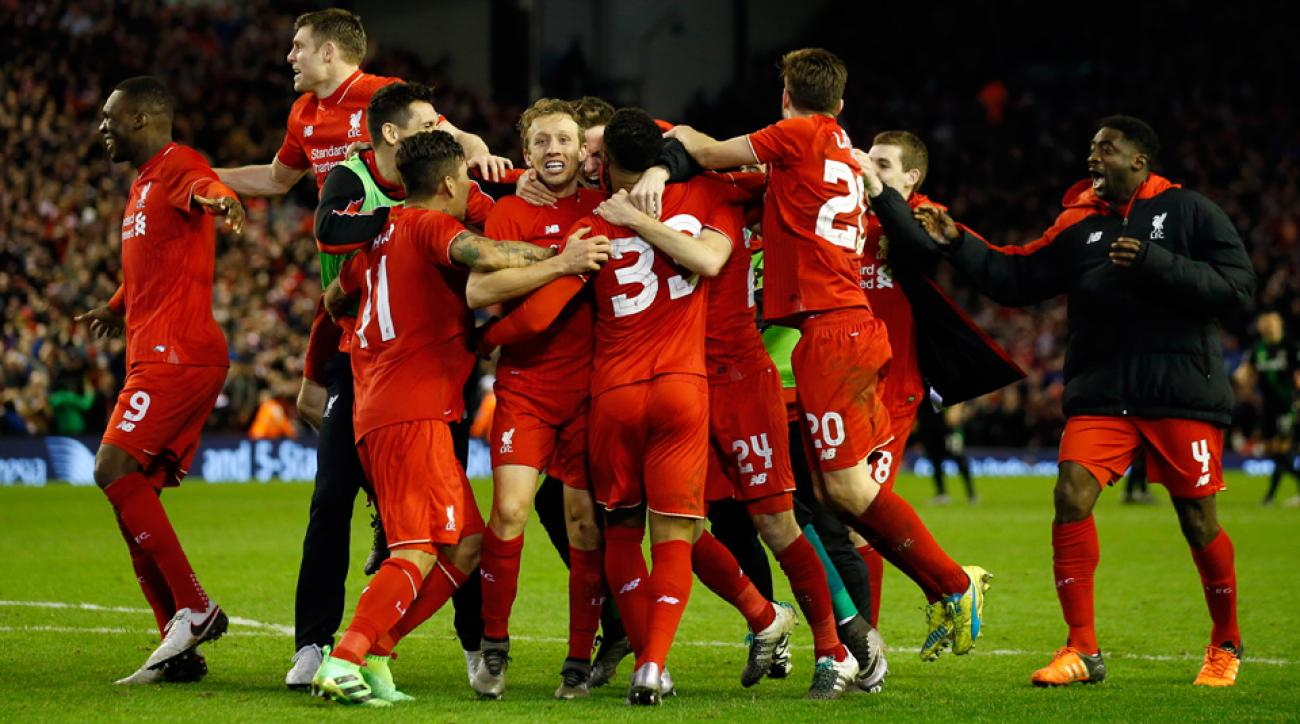 Liverpool downs Stoke City in penalties to reach the League Cup final