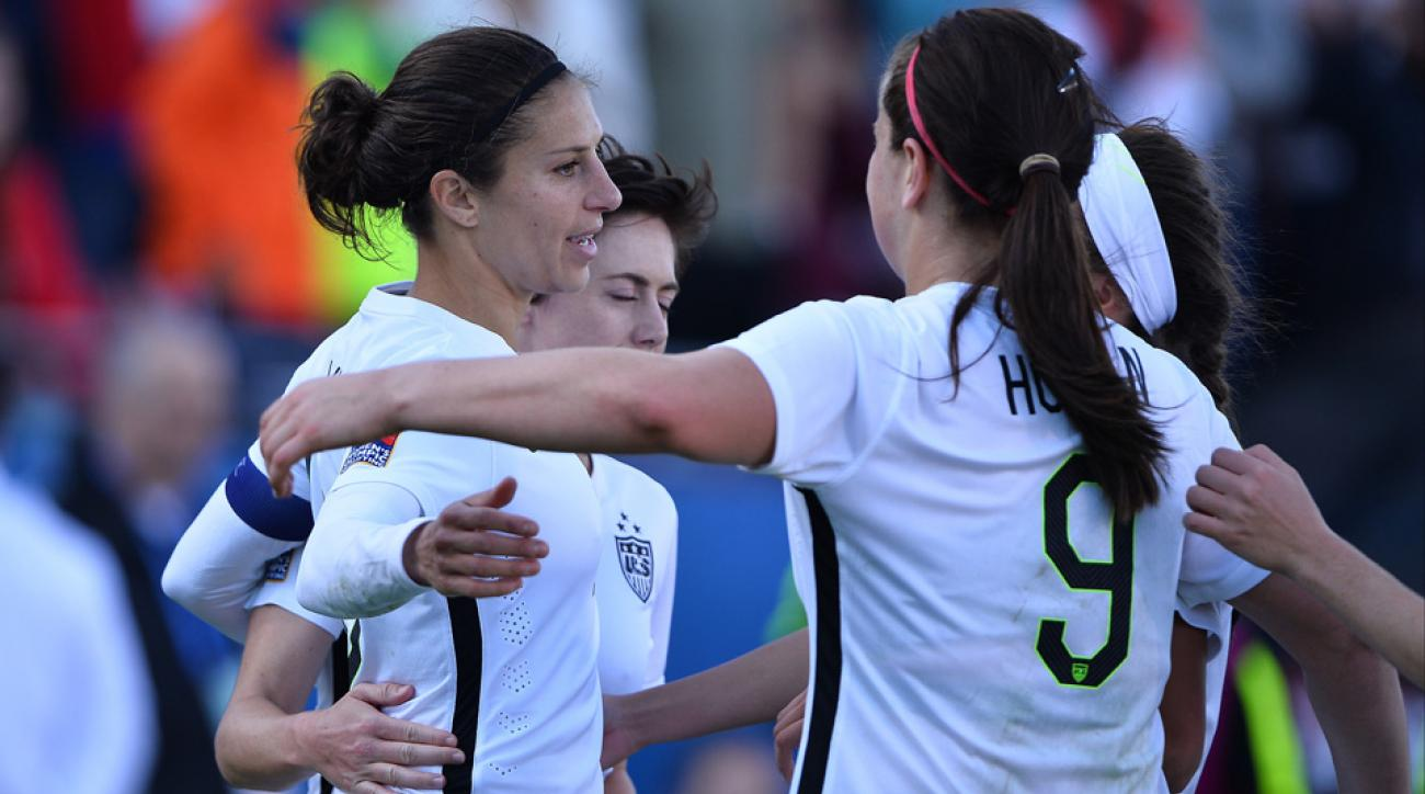 Carli Lloyd and the USWNT beat Mexico 1-0 in Olympic qualifying