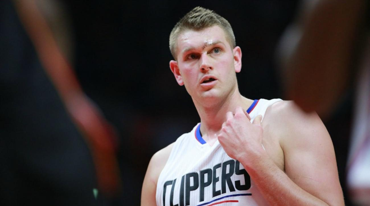 Clippers made Cole Aldrich dance after win over Heat