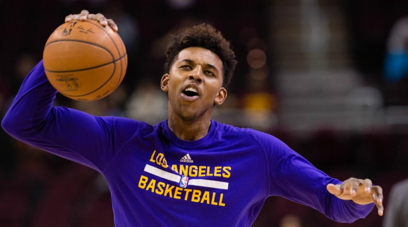 Los Angeles Lakers' Nick Young thought the trade deadline was on Wednesday