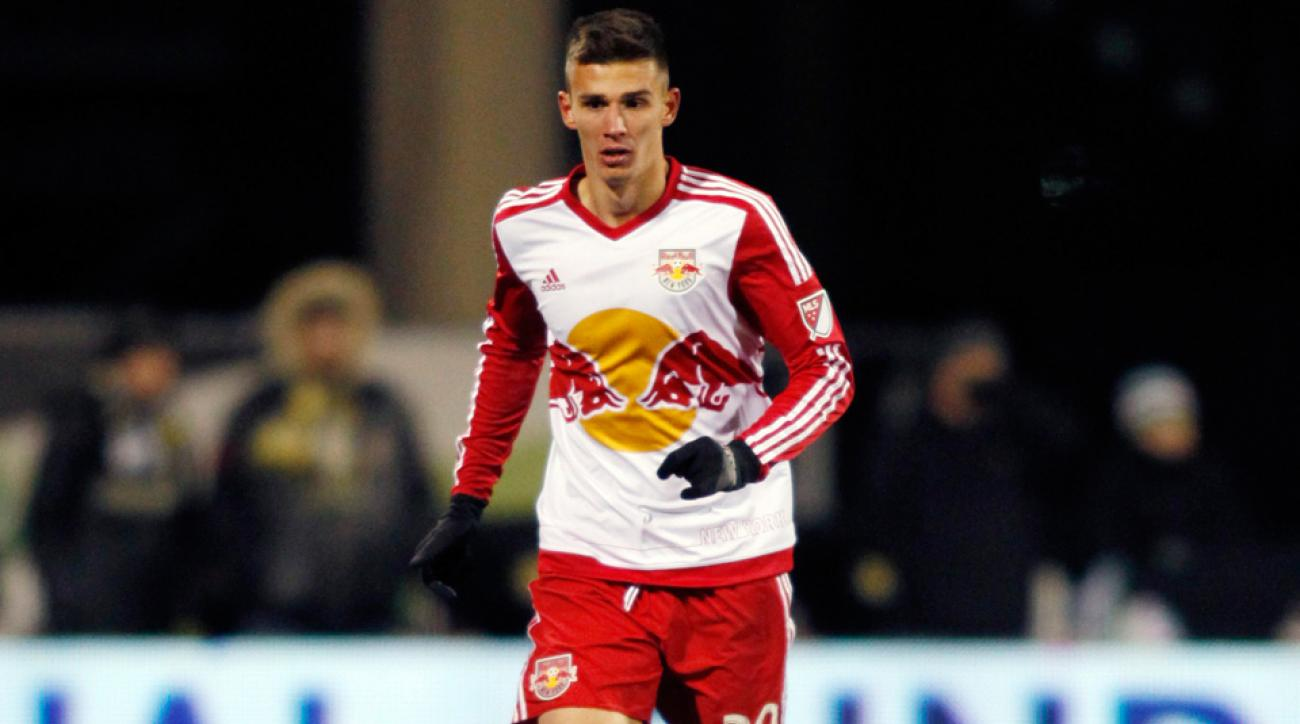 Red Bulls center back Matt Miazga appears headed on his way to Chelsea