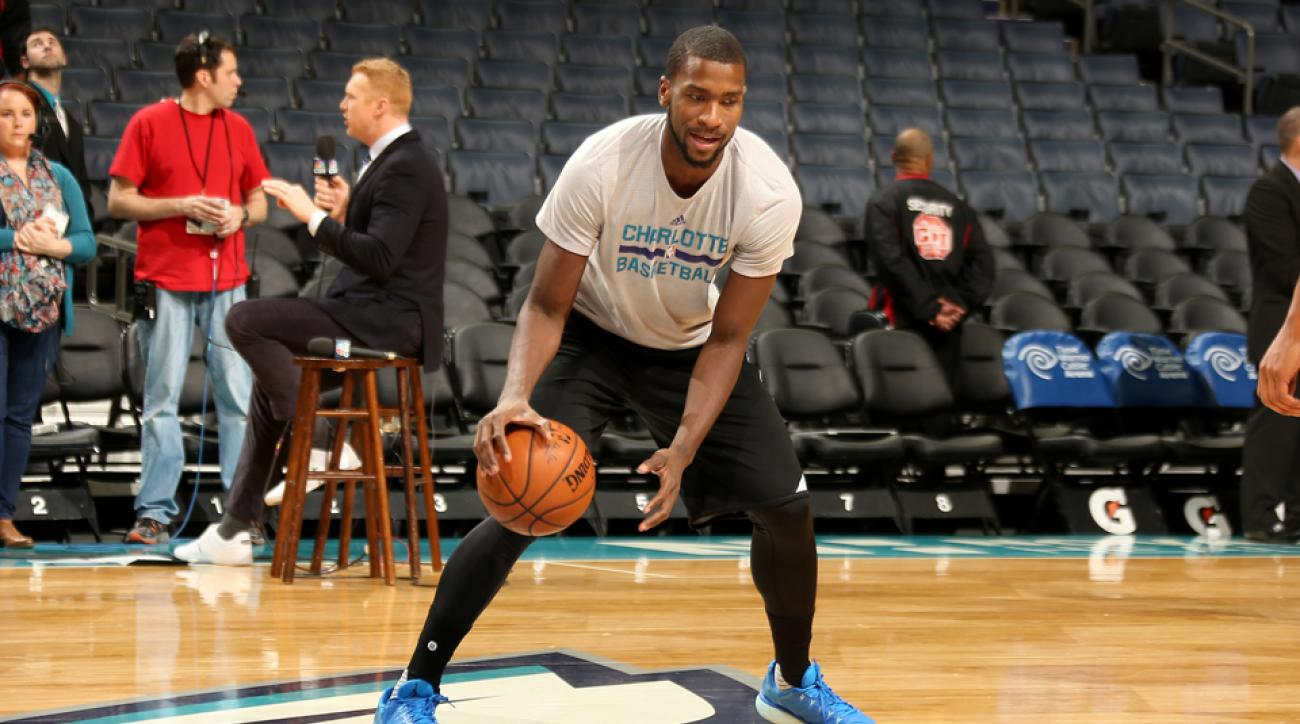 michael kidd gilchrist hornets practice