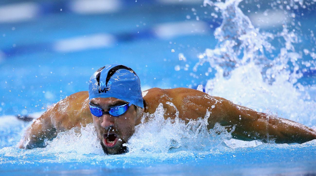 michael phelps 100 butterfly win video