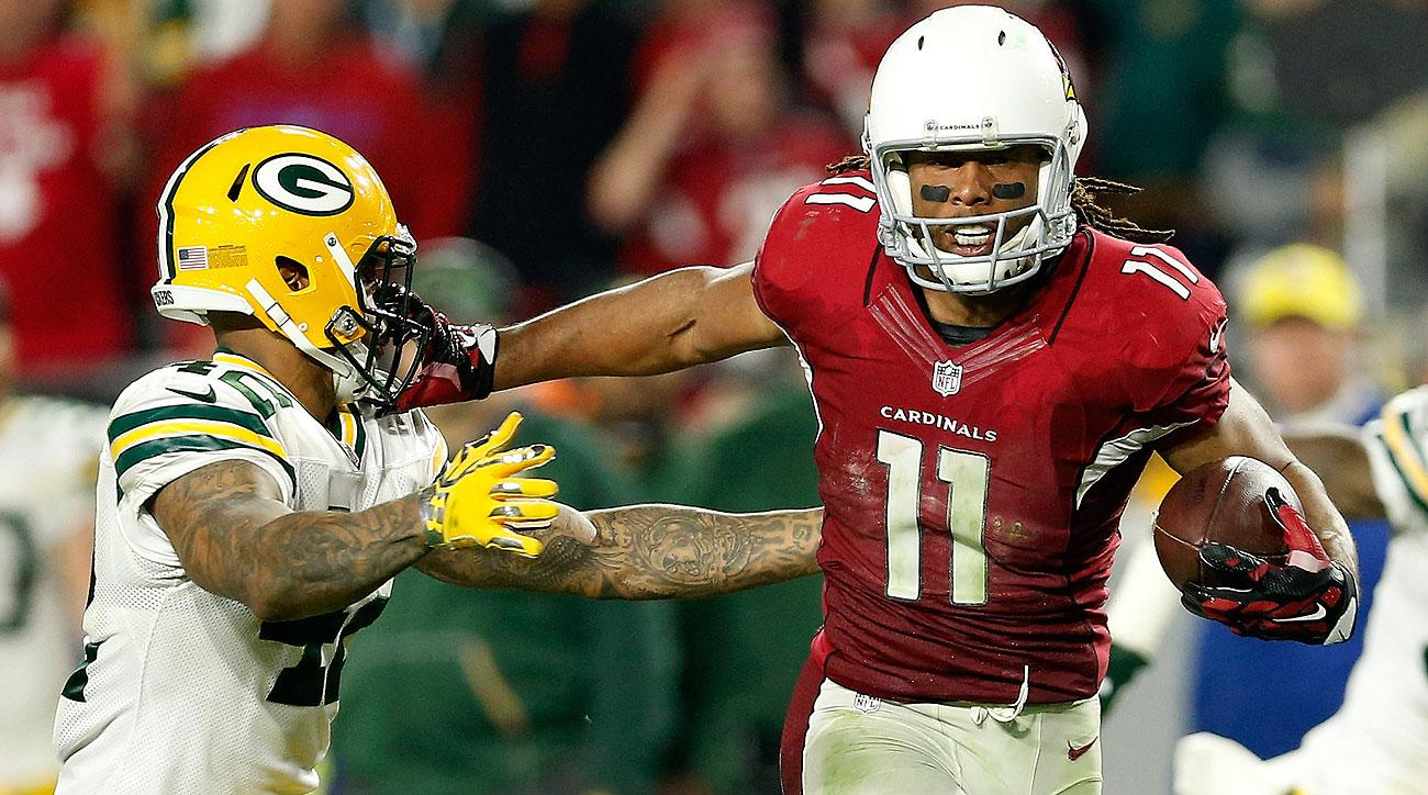 Larry Fitzgerald finished the game with eight catches for 176 yards and the game-winning touchdown.