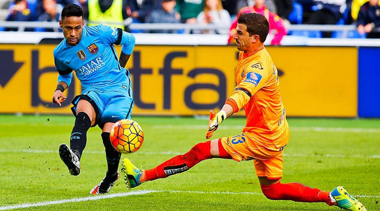 Neymar Barcelona vs. Las Palmas