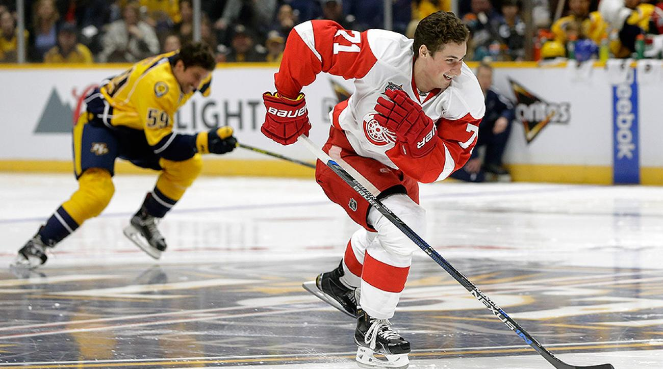 Detroit Red Wings Dylan Larkin