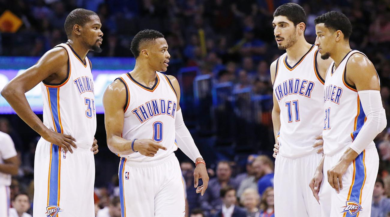 Oklahoma City Thunder Minnesota Timberwolves Russell Westbrook
