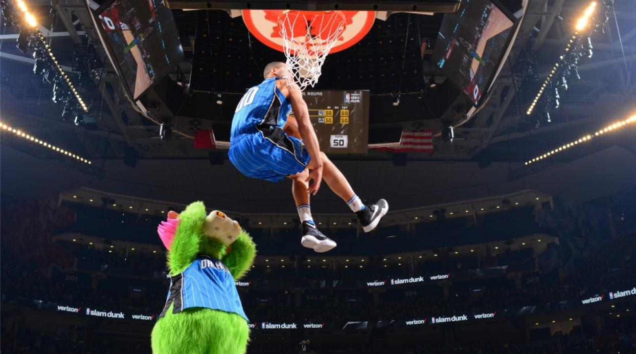Orlando Magic's Aaron Gordon's under the legs dunk gets claymation treatment